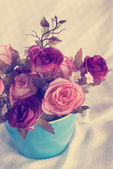 Rose bunch flower — Foto Stock
