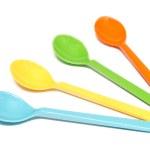 Постер, плакат: Set of spoon