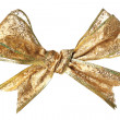 Stock Photo: Golden bow