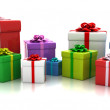 Colorful presents — Stock Photo #14612667
