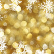 Snowflakes background — Foto Stock