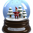 Snow globe — Stock Photo #14612547