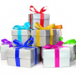 Gift boxes — Stock Photo #14612651