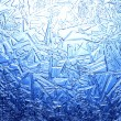 Stock Photo: Frost on glass