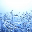 Frost on glass — Stock Photo #14612741