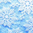 Royalty-Free Stock Photo: Snowflake in snow