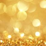 Shiny golden lights — Stock Photo