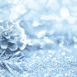 Blue Christmas background — Stock Photo #14612889