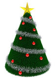 3d Christmas tree — Stock Photo
