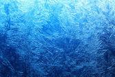Frost på glas — Stockfoto