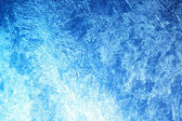 Frost on glass — Stock Photo