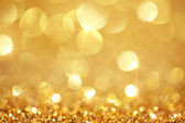 Shiny golden lights — Stock Photo