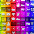 Stock Photo: social media icons