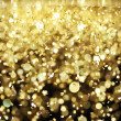 Stock Photo: Bright gold glitter