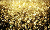 Bright gold glitter — Stock Photo
