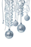 Hanging Christmas decorations — Stock Photo