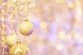 Hagning Christmas ornaments — Stock Photo