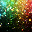 Stock Photo: Rainbow of lights