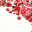 Christmas decoration background — Stock Photo