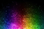 Rainbow of colorful lights — Stock Photo