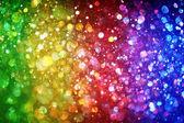 Rainbow of lights — Stock Photo