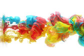 Colorful ink in water — Stock Photo