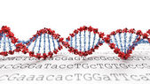 DNA background — Stock Photo