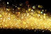 Gold glitterzwiebeln und knoblauch — Stockfoto