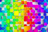 Colorful tiled background — Stock Photo