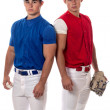 Stock Photo: Baseball Players