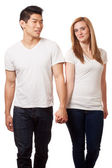 Casual Young Couple — Stock Photo