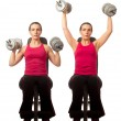 Shoulder Press — Foto de stock #24403241