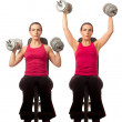 Stock Photo: Shoulder Press