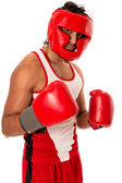 Male Boxer — Stock Photo