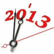 New year 2013 concept clock — Stock Photo #13250386