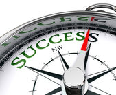 Success compass conceptual image — Stock Photo