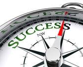 Success compass conceptual image — Stock Photo