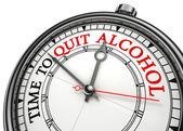 Tempo di smettere di bere alcol — Foto Stock