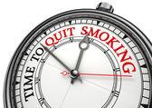 Time to quit smoking — Stock Photo