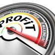 Profit conceptual meter — Stock Photo #32908901
