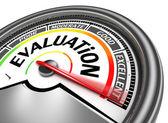 Evaluation conceptual meter — Stock Photo
