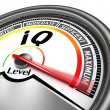 Stock Photo: Iq conceptual meter