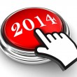 New year red button — Stock Photo