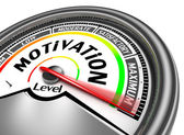 Motivation conceptual meter — Stock Photo