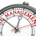 Time management concept clock — Stock Photo #9851047