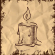 Royalty-Free Stock Vector Image: Vector Candle