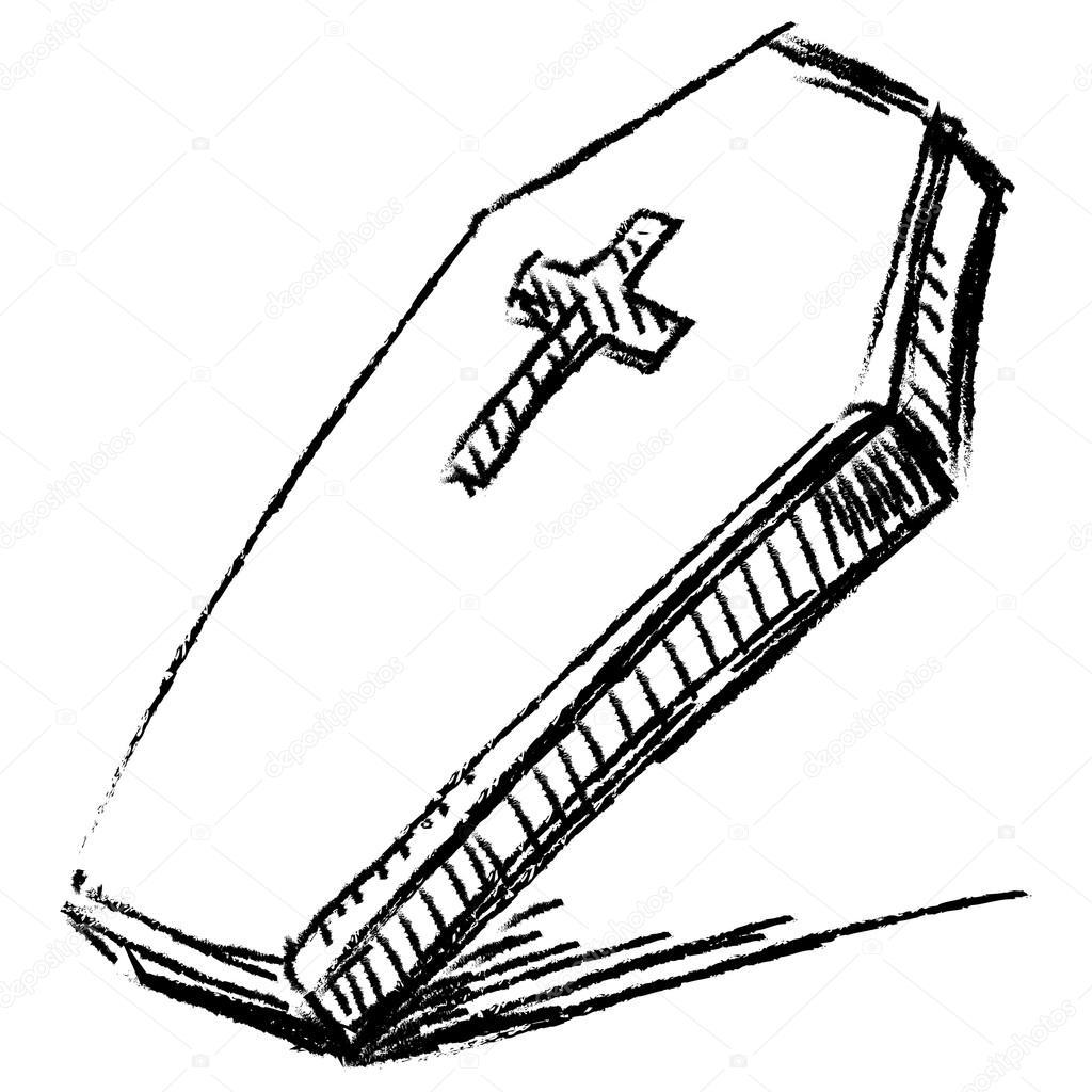 Гробы рисунки карандашом для