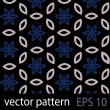 Grey, blue and black geometric figures seamless pattern scrapbook paper set — Image vectorielle