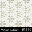 Grey and brown geometric figures seamless pattern scrapbook paper set — Stock Vector