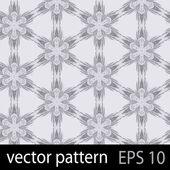 Blue geometric figures seamless pattern scrapbook paper set — Stock Vector